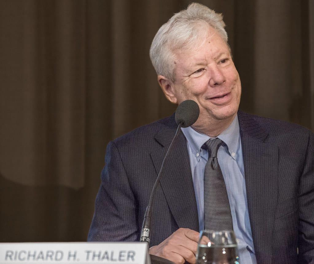 Richart Thaler, nositel Nobelovy ceny.