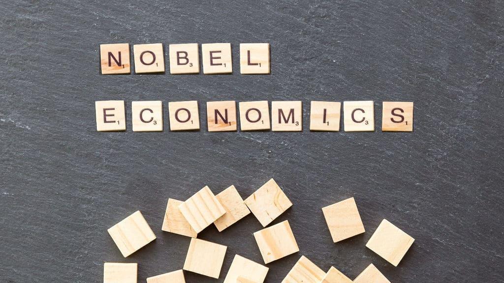 Ilustrace - Nobelova cena v ekonomii.